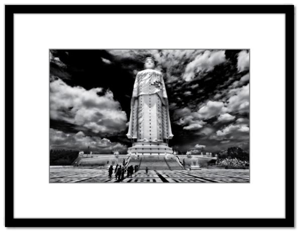 Myanmar, Burma, Monywa, Bodhi Tataung Complex, 423-foot standing Buddha