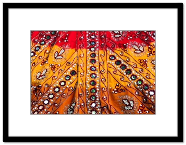 India, Rajasthan, Jaipur, textile, embroidery